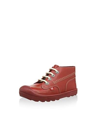 Kickers Zapatos Rojo