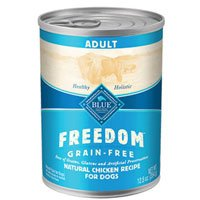 Blue Buffalo Freedom Grain Free Adult Chicken Recipe Canned Dog Food