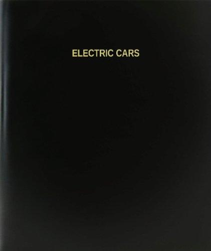 "Bookfactory® Electric Cars Log Book / Journal / Logbook - 120 Page, 8.5""X11"", Black Hardbound (Xlog-120-7Cs-A-L-Black(Electric Cars Log Book))"