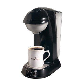 GEVALIA G90 REVERSIBLE POD COFFEE BREWER- BLACK