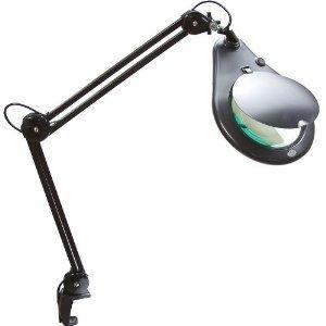 SE 110V Illuminated 3x Magnifier Table Lamp