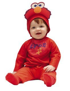 Baby Elmo Costume Size 3-12 Months