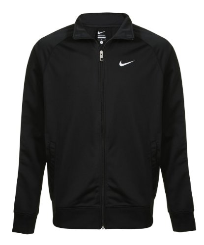 Nike Mens Black 449939 Tracksuit Zip Up Top