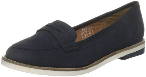French Connection Women's Ronald Sfai7 Navy Formal Loafers 2810584209 8 UK