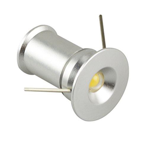 Brightsky Round 1W X6Pcs White Mini Led Ceiling Jewelry Wine Cabinet Light Downlights Spotlight