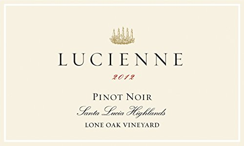 Lucienne 2012 Pinot Noir Lone Oak Vineyard