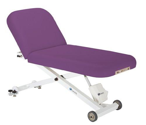 Earthlite 32-Inch Ellora Tilt Electric Lift Massage Table (Amethyst)
