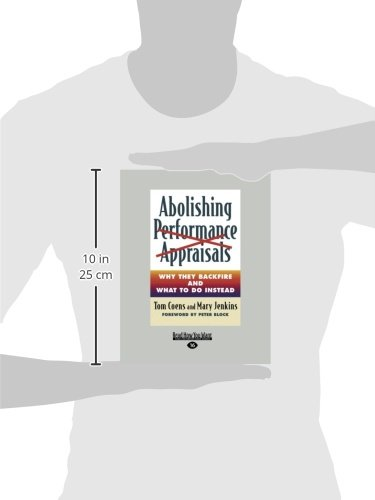 Abolishing Performance Appraisals (Large Print 16pt)