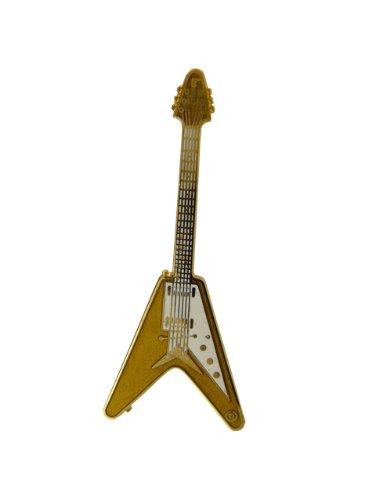 516 Gibson Flying V Pin Gold (Japan Import)