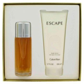 Calvin Klein Escape By Calvin Klein Gift Set 3 4 Oz Eau De Parfum Spray 6 7 oz