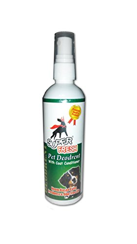 Super Dog Deodrent With Coat Conditioner 200 Ml