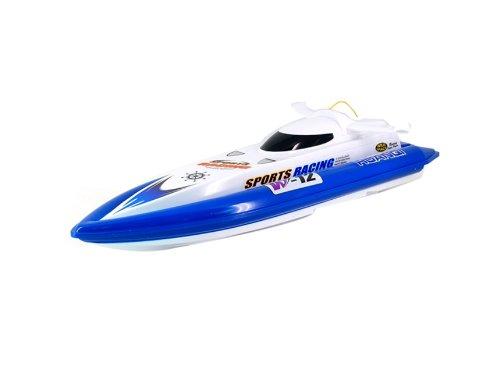 951-10 Mini R/C Radio Control Full Functional Speedy Boat (Blue)