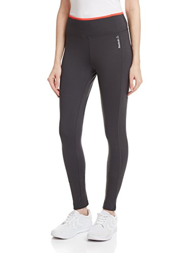 Reebok-Collant-Leggings leggin work-out ready grigio XS