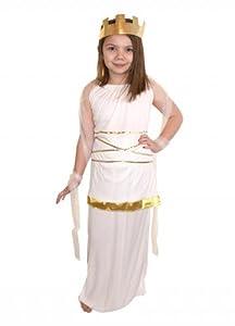 Costume da dea greca Atena per bambina età 10-13: Amazon