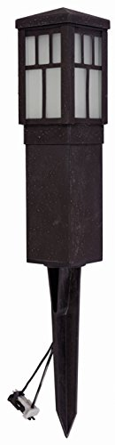 Malibu Mission Collection LED Bollard Pathway Light LED Low Voltage Landscape Lighting 8419-4321-01 (Electric Garden Lights compare prices)