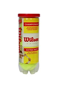 Wilson Sporting Goods Championship Extra Duty Tennis Balls (1-Can)