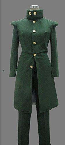 Dansuet JoJo's Bizarre Adventure Hierophant Green Cosplay Costume Customize Costume,Bizarre Adventure Hierophant Green Costume for Men (XL)