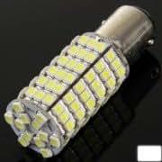 1157 White 120 LED 3528 SMD Car Signal Light Bulb, DC 12V