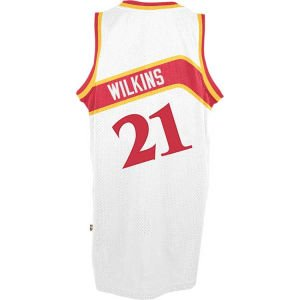 Atlanta Hawks #21 Dominique Wilkins NBA Soul Swingman Jersey, White by adidas