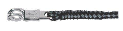 Führstrick Exlusiv, Schwarz-Grau