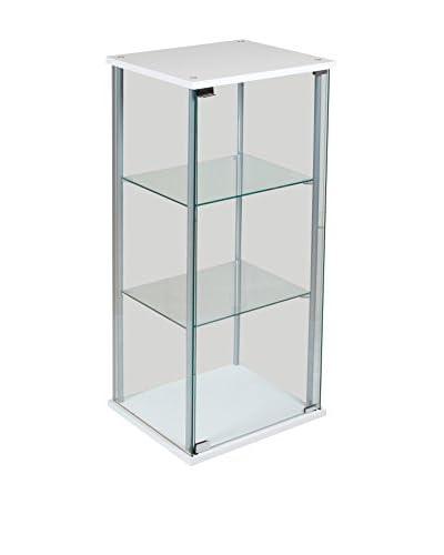 MODERN HOME Vitrina Blanco/Transparente