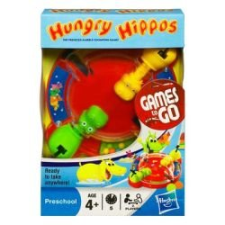 Hungry Hippo Fun On The Run Travel Game - 1