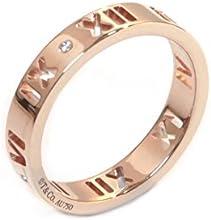 [ティファニー] TIFFANY 18KRG ローズゴールド アトラス リング ダイヤモンド 指輪 【並行輸入品】 30480589 日本サイズ11号 (USサイズ6号)