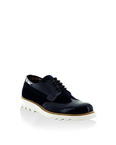 Tony Black Zapatos de cordones Azul Marino
