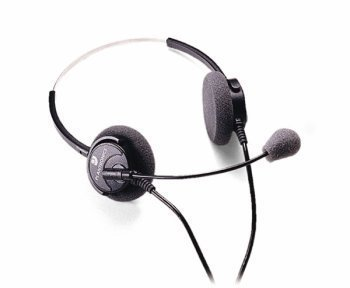 Plantronics H51N Supra Monaural Headset With Noise Cancelling Microphone