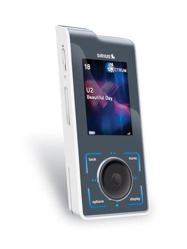 Sirius Stiletto SL10 Portable Satellite Radio Receiver