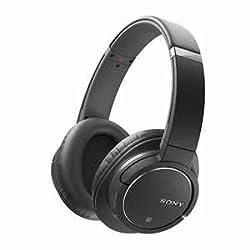 SONY 密閉型ワイヤレスノイズキャンセリングヘッドホン Bluetooth対応 ブラック MDR-ZX770BN/B