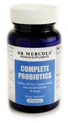 Les probiotiques Complete Mercola - 60 capsules