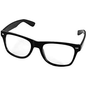 Carchet occhiali da vista con lenti montatura nera unisex for Amazon occhiali da vista