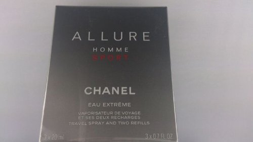 シャネル Allure Homme Sport Eau Extreme Travel Spray 3x20ml