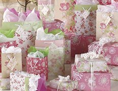 Gift Wrapping - Floral 35-pc. Complete Gift Wrap Set