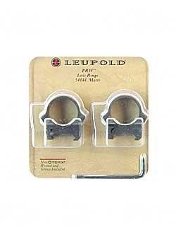 """Leupold Prw Rings 1"""" Low Black Matte"""