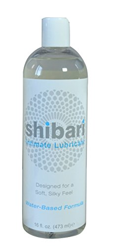 Shibari Intimate Lubricant, Water Based, for Women's Soft Skin