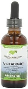 Native Remedies Focus ADDult, 59 ml