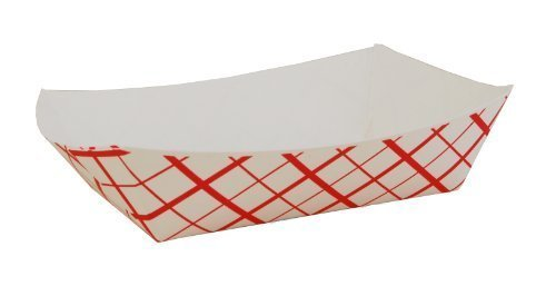 CulinWare Paper Food Tray, 1lb, 250 Pack, (1lb Paper Trays compare prices)