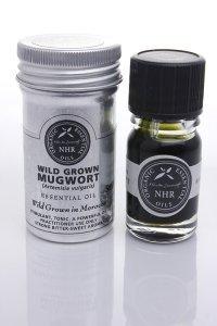 Wild Crafted Mugwort Essential Oil (Artemisia vulgaris) (50ml) by NHR Organic Oils