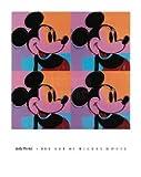 ポスター アンディ ウォーホル Mickey Mouse