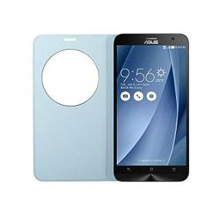ASUS Zenfone2(ZE551ML)用フリップカバーブルー View Flip Cover Deluxe 90AC00F0-BCV045