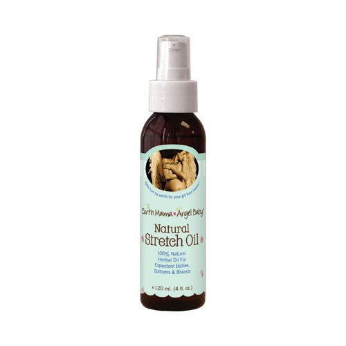 Earth Mama Angel Baby Natural Stretch Oil, 4 OZ - 1