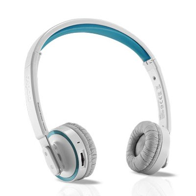 Rapoo H6080 Bluetooth 4.0 Stereo Wireless Foldable Headset With Microphone For Iphone, Ipad, Pc, Cell Phone (Blue)