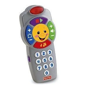 FP Infant Laugh and Learn Click 'n Learn Remote for 6 - 36 Months (Multicoloured)
