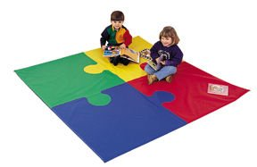 Picture of Fun Puzzle Square Mat - Childrens Factory (B002IAV1T4) (Puzzle Play Mats)