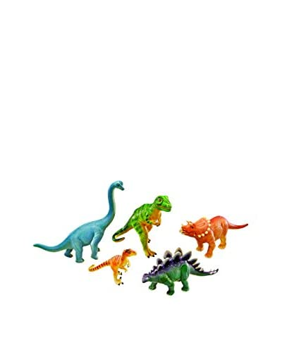 Learning Resources 5-Piece Jumbo Dinosaurs Set, Multi
