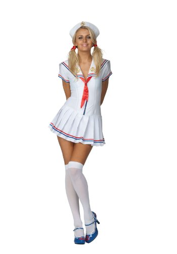 Ladies Sexy Sailors Delight Halloween Costume