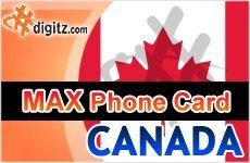 Canada prepaid phone card only $19.99! - Digitz.com