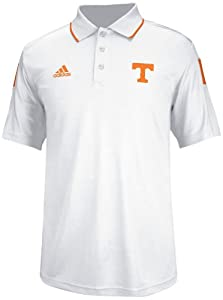 Tennessee Volunteers Adidas 2014 Sideline Climalite Polo Shirt - White by adidas